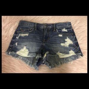 Hollister Distressed Jeans Short
